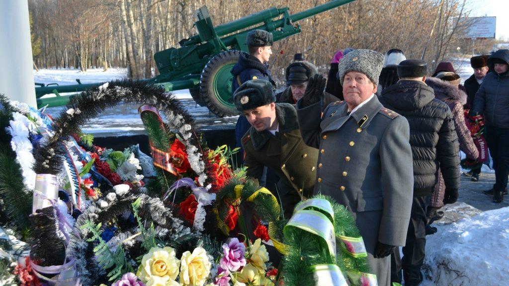 В Михайлове отметили годовщину освобождения города от фашистов