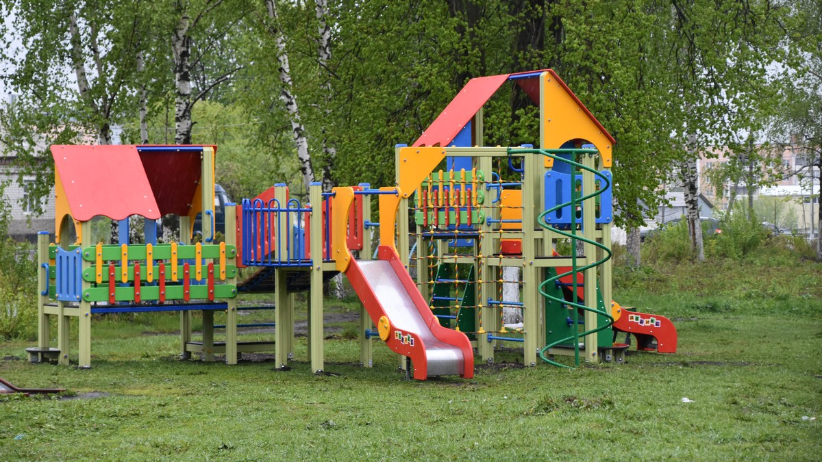 Детские игровые площадки благоустройство домов