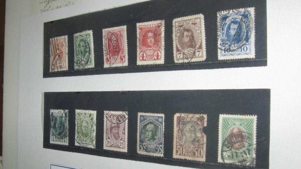 В шиловской «Заряне» открылась выставка уникальных марок из коллекции историка Гаврилова