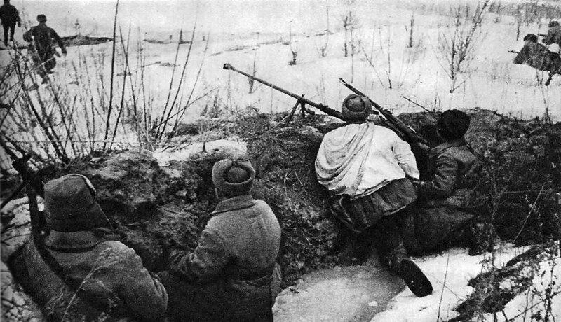 Бои за Украину в декабре 1943-го