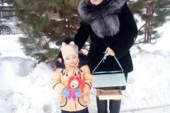 Полина Абрамкина с мамой Мариной