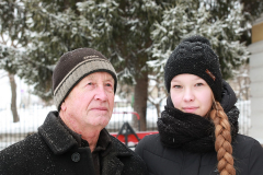 !007 - Александра  Третьякова с ее дед Анатолий Васильевич