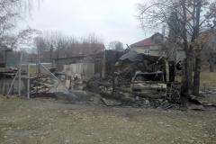 Ряжск. Пожар в Алешне