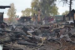 Ряжск. Сгорели три дома 2