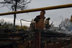 Ряжск. Сгорели три дома11