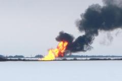 газопровод пожар 2
