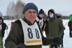 старейший участник соревнований Алексей Маслов