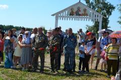 Ряжск. Открытие мемориала в Ногайском DSC_0383