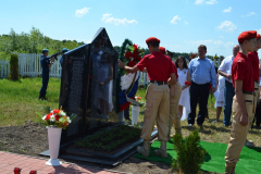 Ряжск. Открытие мемориала в Ногайском DSC_0638