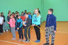 Сараи Гракову открытие спортзала в школе 1