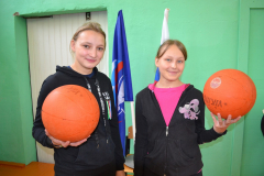 Сараи Гракову открытие спортзала в школе 2