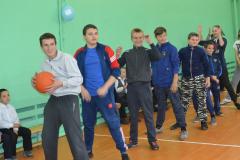 Сараи Гракову открытие спортзала в школе 4