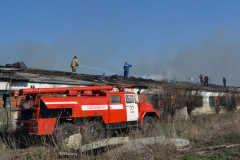 Пожар на ферме 1