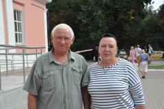 Глава Варсковского поселения Александр Гурин и Наталья Крылова