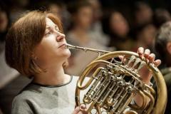 Кармина Бурана РГСО. Репетиция. Полина Кочетова (Рязанский губернаторский симфонический оркестр)