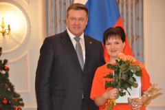 Николай Любимов и Елена Смысленова