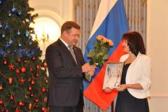 Николай Любимов и Ольга Харина