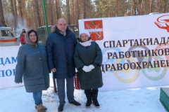 Слева направо Людмила Агафонова, Владимир Луканцов, Татьяна Манакина