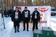 Слева направо Николай Субботкин, Дмитрий Чижиков, Павел Сидоров