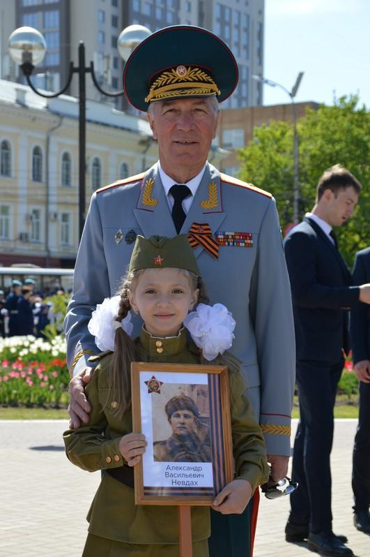 По рязанским улицам прошел многотысячный «Бессмертный полк» — фото