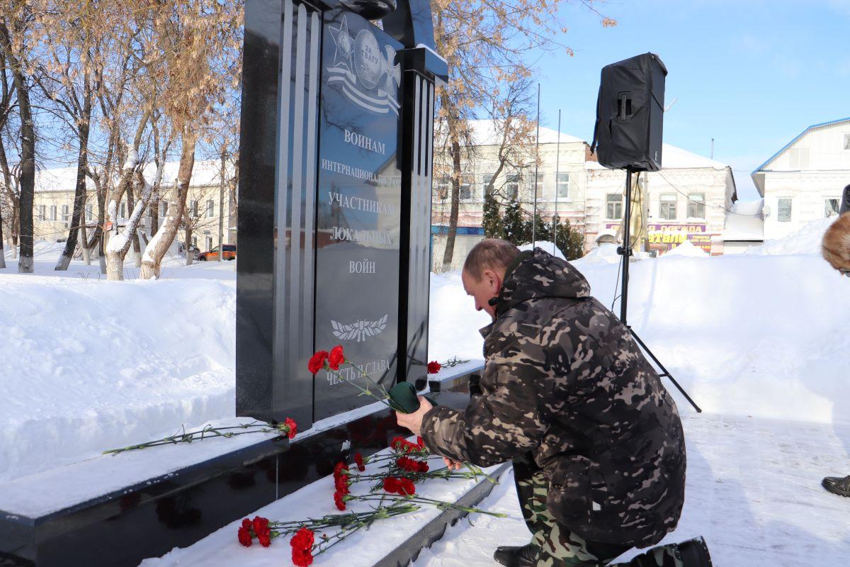 Память воинов-интернационалистов почтили в Рязанской области