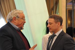 Аркадий Фомин и Валерий Шадский