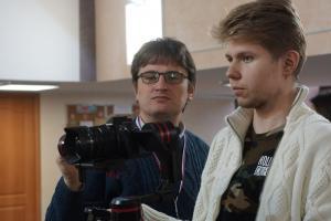 Павел Морозов преподаёт урок операторского мастерства