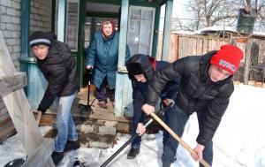 Сараи Гракову волонтеры 3