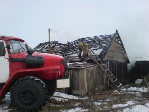 Сараи Гракову пожар в Кривском 3