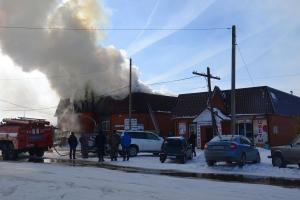 пожар в Милославском1