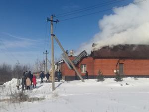 пожар в Милославском5