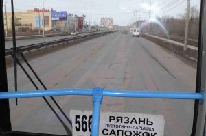 сапожковский автобус34