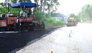 ремонт дороги Советская Чучково